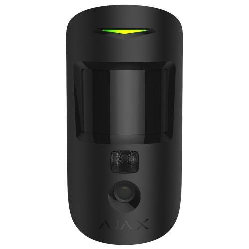 Датчик движения с фотоподтверждением тревог Ajax MotionCam (black)