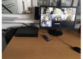 Установка видеонаблюдения для складского помещения в Днепре