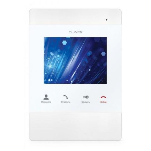 Видеодомофон Slinex SM-04M White