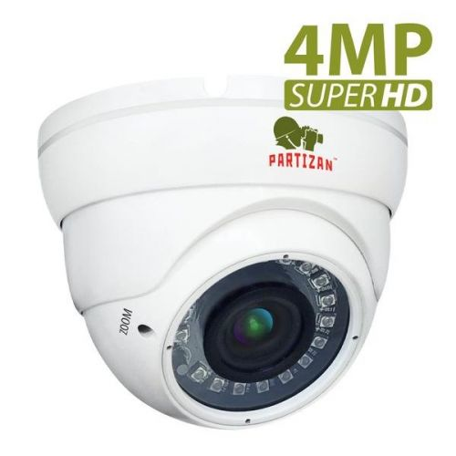 AHD видеокамера Partizan CDM-VF37H-IR SuperHD 4.3