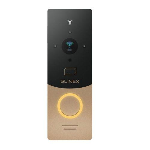 Вызывная видеопанель домофона Slinex ML-20CR gold/black