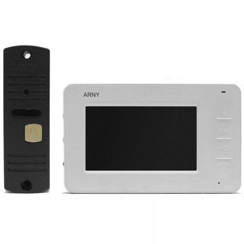 Комплект видеодомофона ARNY AVD-4005 white