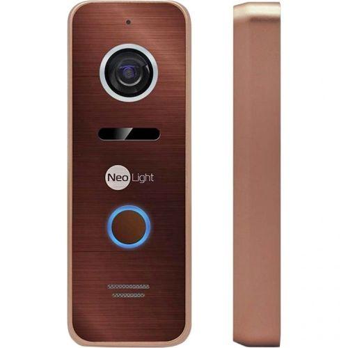 Вызывная видеопанель домофона NeoLight PRIME HD Bronze