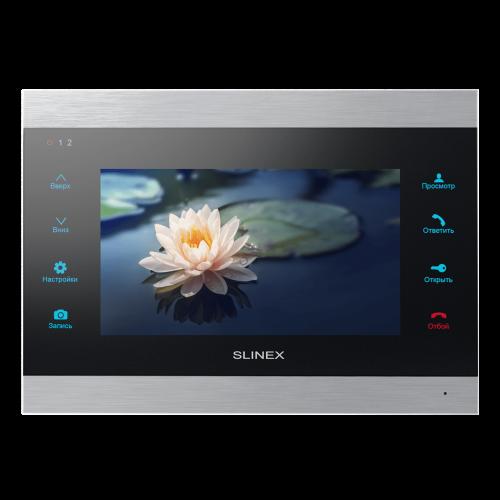 Видеодомофон Slinex SL-07 IP silver+black