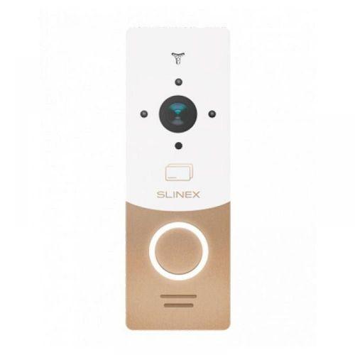 Вызывная видеопанель домофона Slinex ML-20HR gold/white