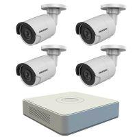 Комплект TurboHD видеонаблюдения Hikvision KIT-DS154