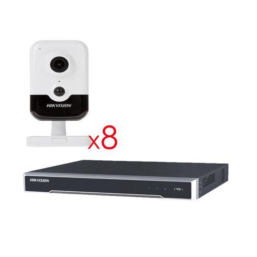 Комплект IP видеонаблюдения Hikvision KIT-DS198