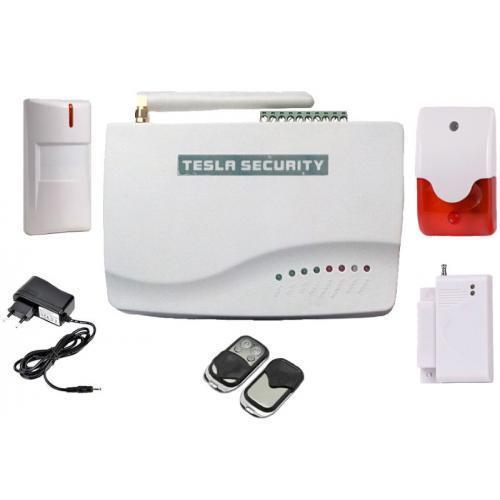GSM сигнализация TESLA SECURITY GSM-560 Full