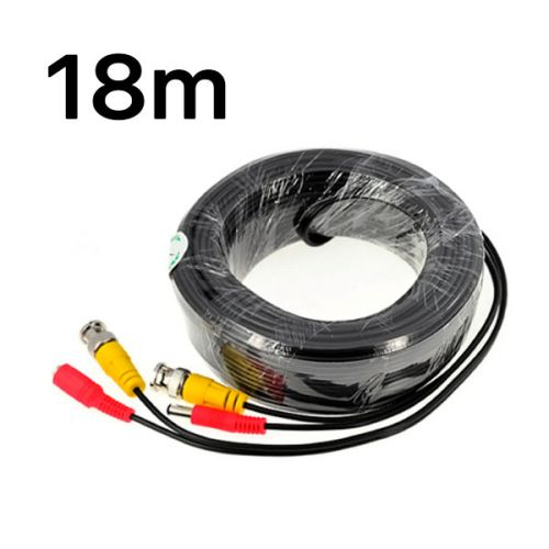 BNC-power кабель ATIS 18м 2Мп
