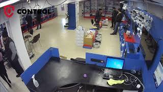 Пример записи - IP камеры Hikvision 4 МП в магазине