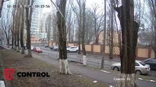 Пример записи - IP камера Hikvision 4 МП на улице