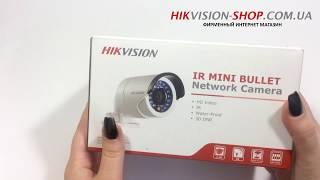 Hikvision DS-2CD2020F-I - обзор комплектации IP камеры