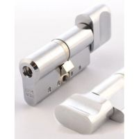 Цилиндр ABLOY Protec 2 CY333 63 мм (32Hx31T) хром матовый