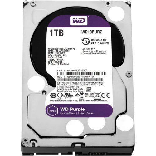 Жесткий диск 1TB 64MB Western Digital WD10PURZ