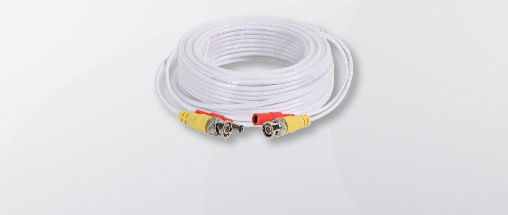 Как удлинить кабель видеонаблюдения?