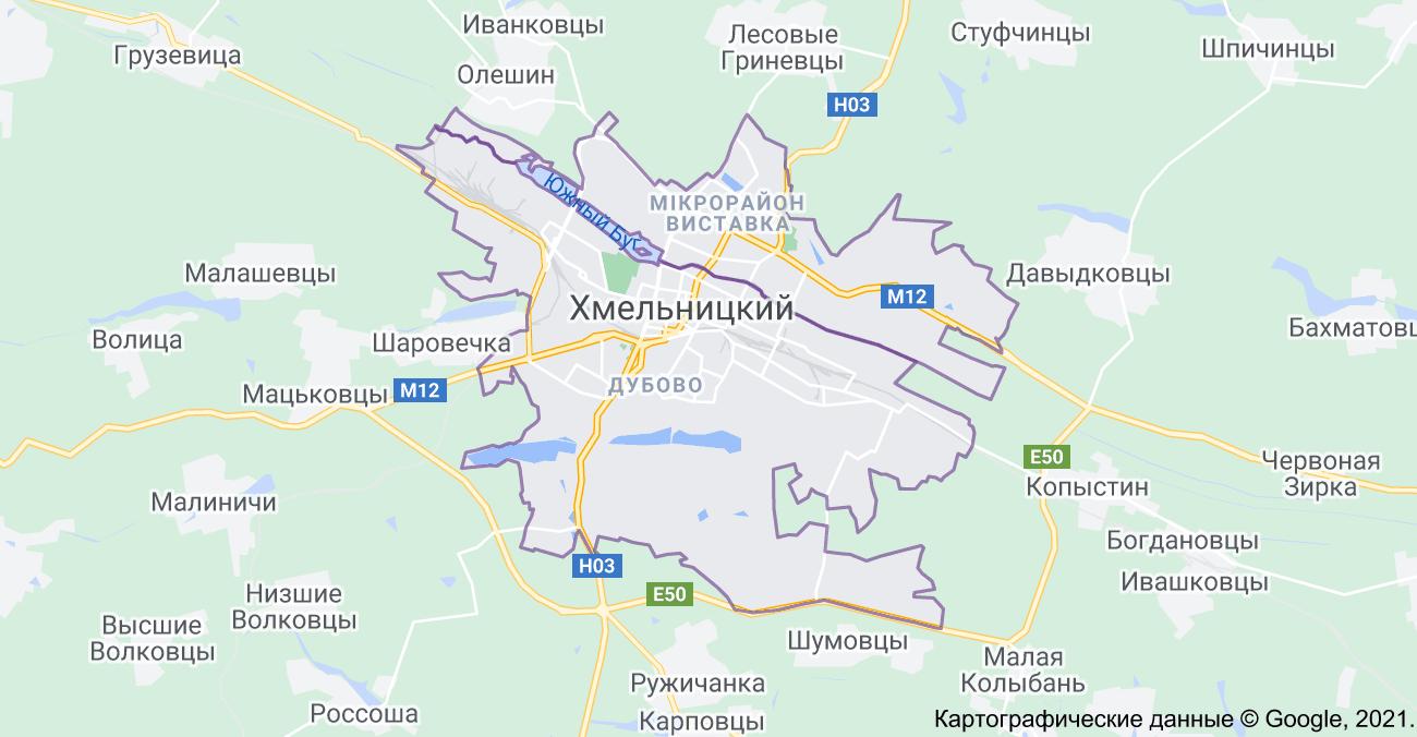 Установка видеонаблюдения в Хмельницком
